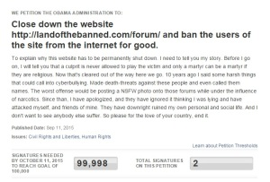 shut down land of the banned